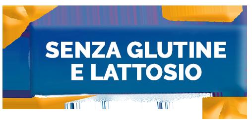 Senza glutine e lattosio